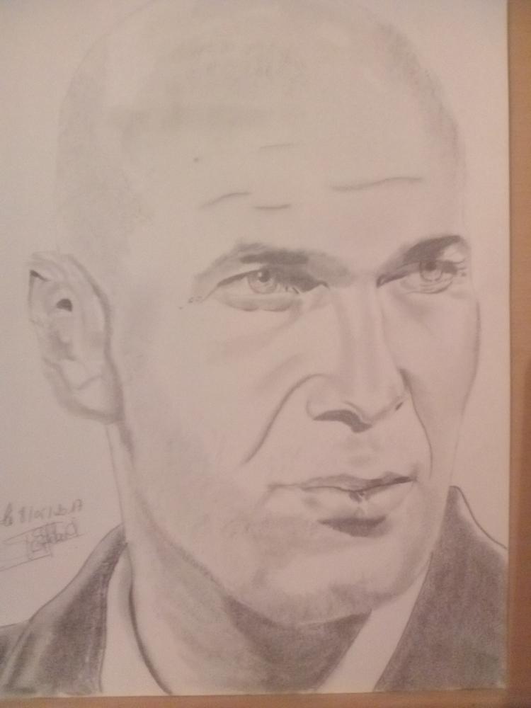 Zinedine Zidane par philippe1963